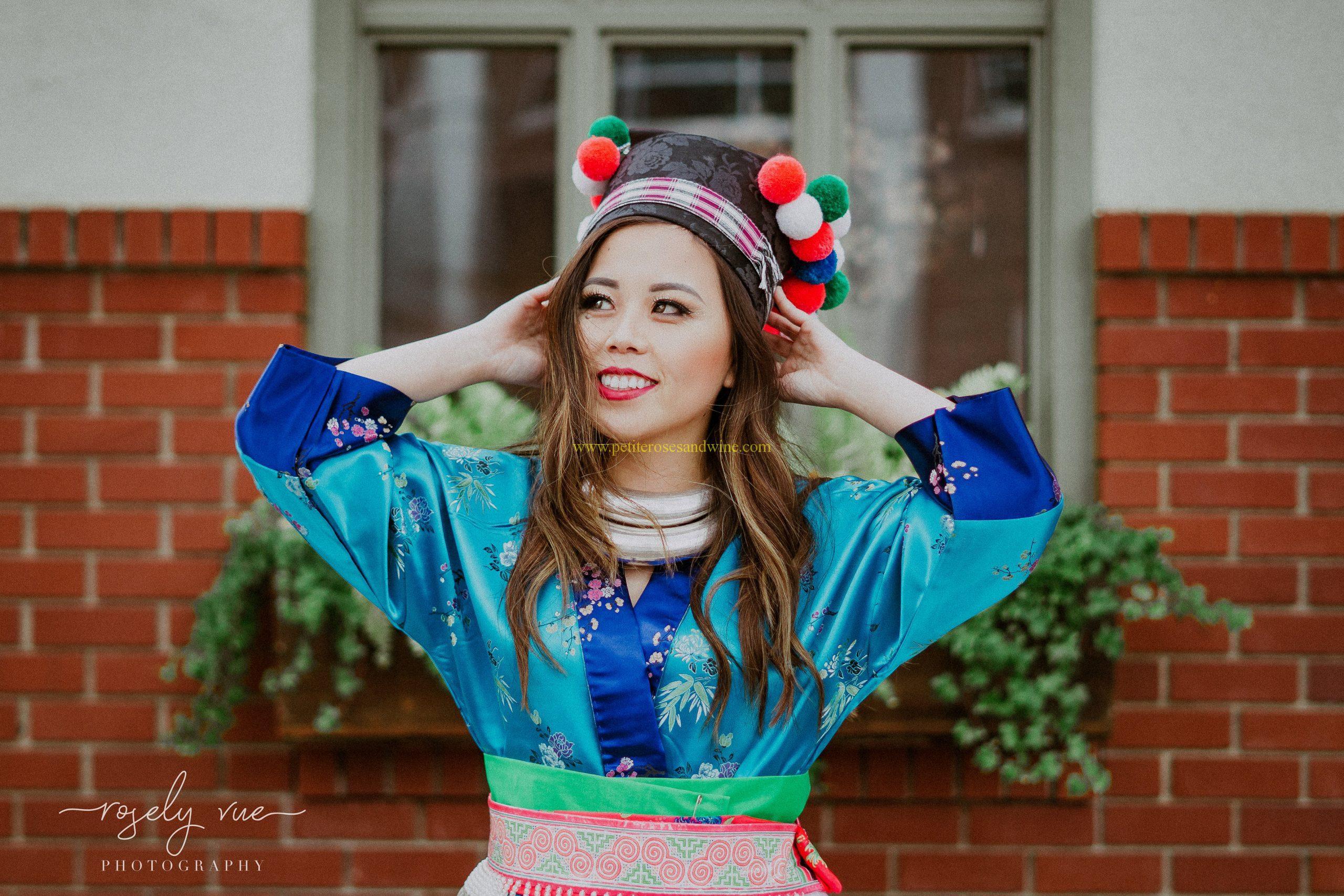 Hmong Outfit Luang Prabang Carolyn Chang