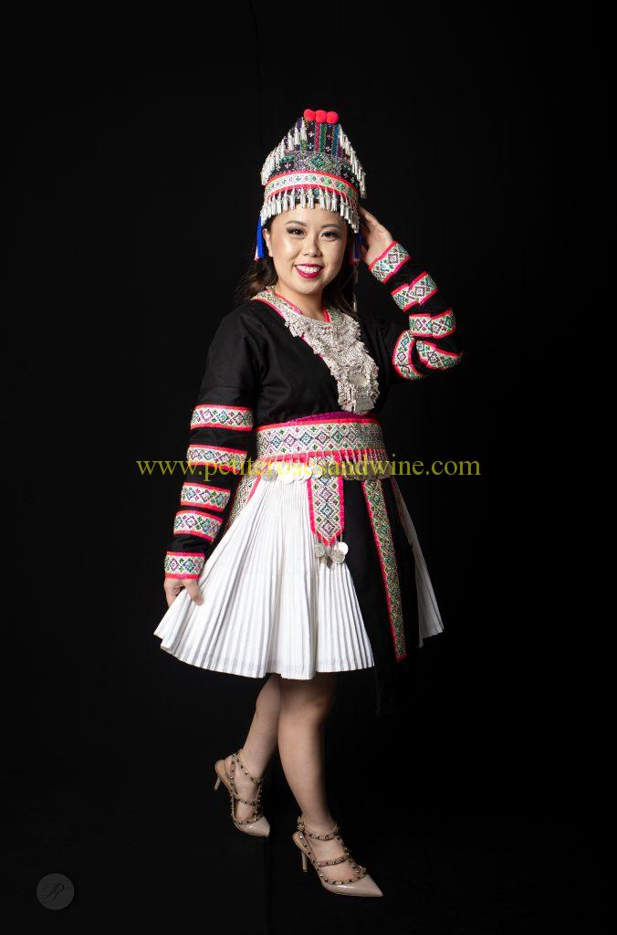 IMG_7978-676x1024 Hmong Outfit Series :: Sequin & Stripes DIY HMONG Hmong Outfit Series