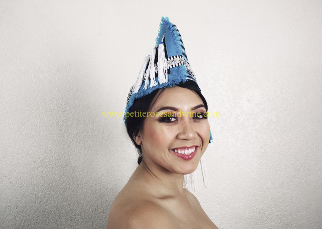 DSC_0410final-1024x731 Phuam Paj Ntaub Cog Ci :: Sparkly Sequins & Shiny Blue DIY HMONG