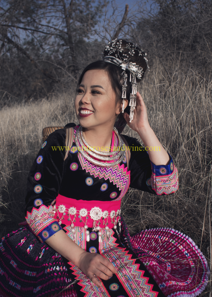 DSC_0553edit-732x1024 Hmong Outfit Series :: Hmong Leng Thailand Hmong Outfit Series