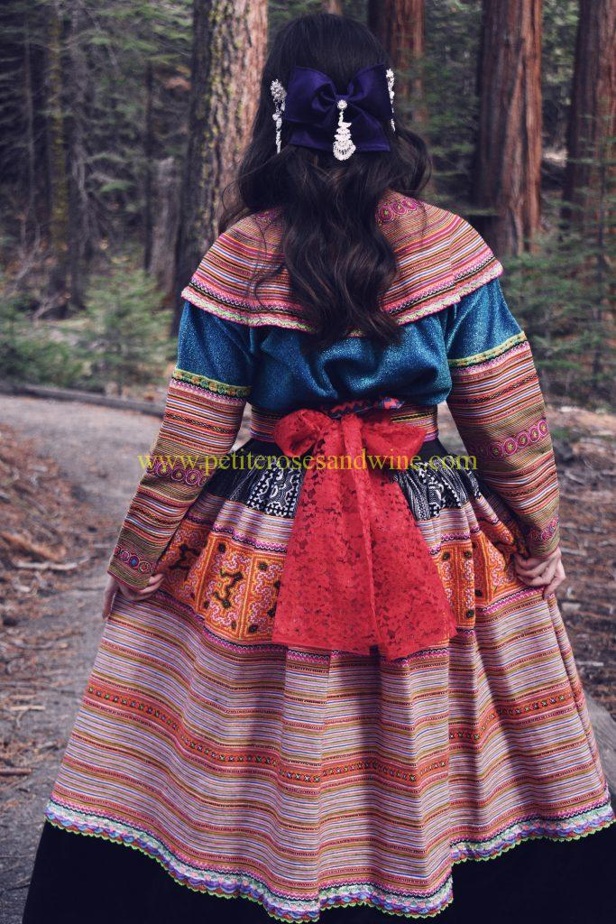DSC_0122edit-683x1024 Hmong Outfit Series :: Colorful Appliqué & Flower Hmong Hmong Outfit Series