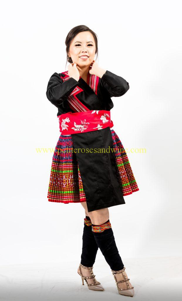 A2A0633-620x1024 Hmong Outfit :: Red Appliqué & Zig Zags DIY HMONG Hmong Outfit Series
