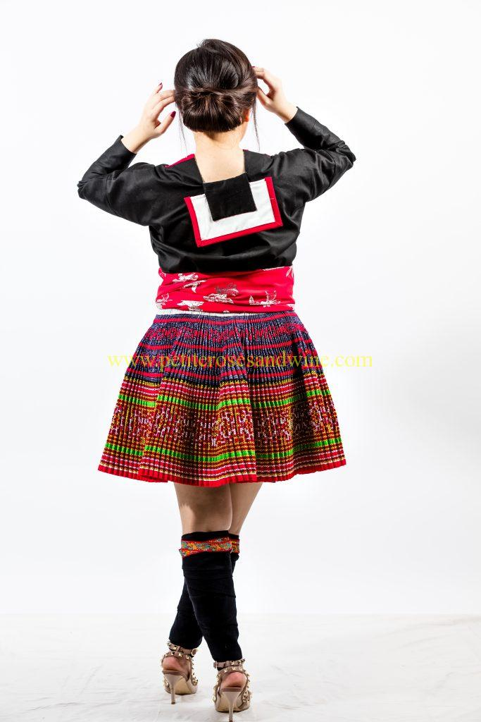A2A0656-683x1024 Hmong Outfit :: Red Appliqué & Zig Zags DIY HMONG Hmong Outfit Series